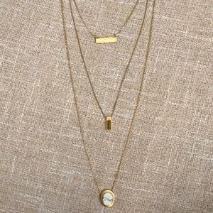 Madewell Layered Hold Necklace